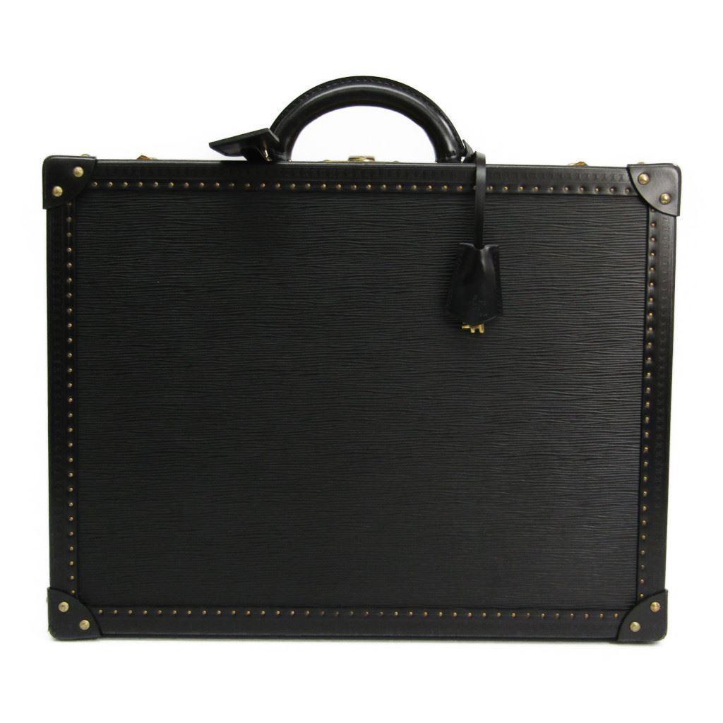 ルイ・ヴィトン(Louis Vuitton) エピ ハードケース スーツケース ノワール コトヴィル 45 オプショナルオーダー 【中古】