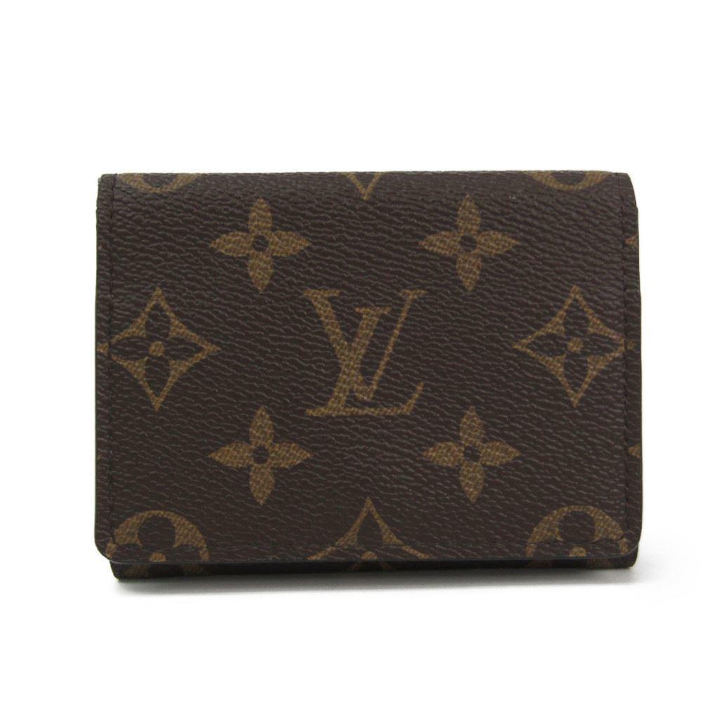 ルイ・ヴィトン(Louis Vuitton) モノグラム モノグラム 名刺入れ モノグラム アンヴェロップ・カルト ドゥ ヴィジット M63801 【中古】