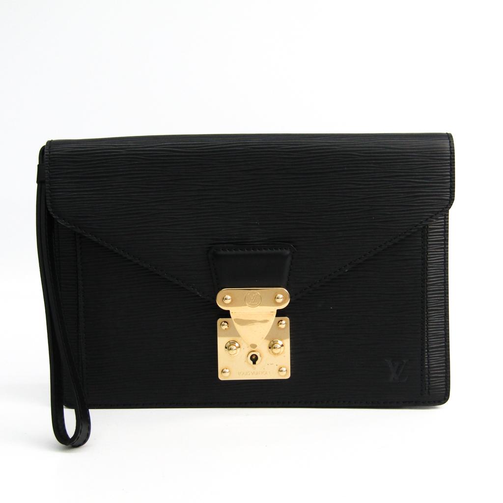 ルイ・ヴィトン(Louis Vuitton) エピ ポシェット・セリエ・ドラゴンヌ M52612 クラッチバッグ ノワール 【中古】