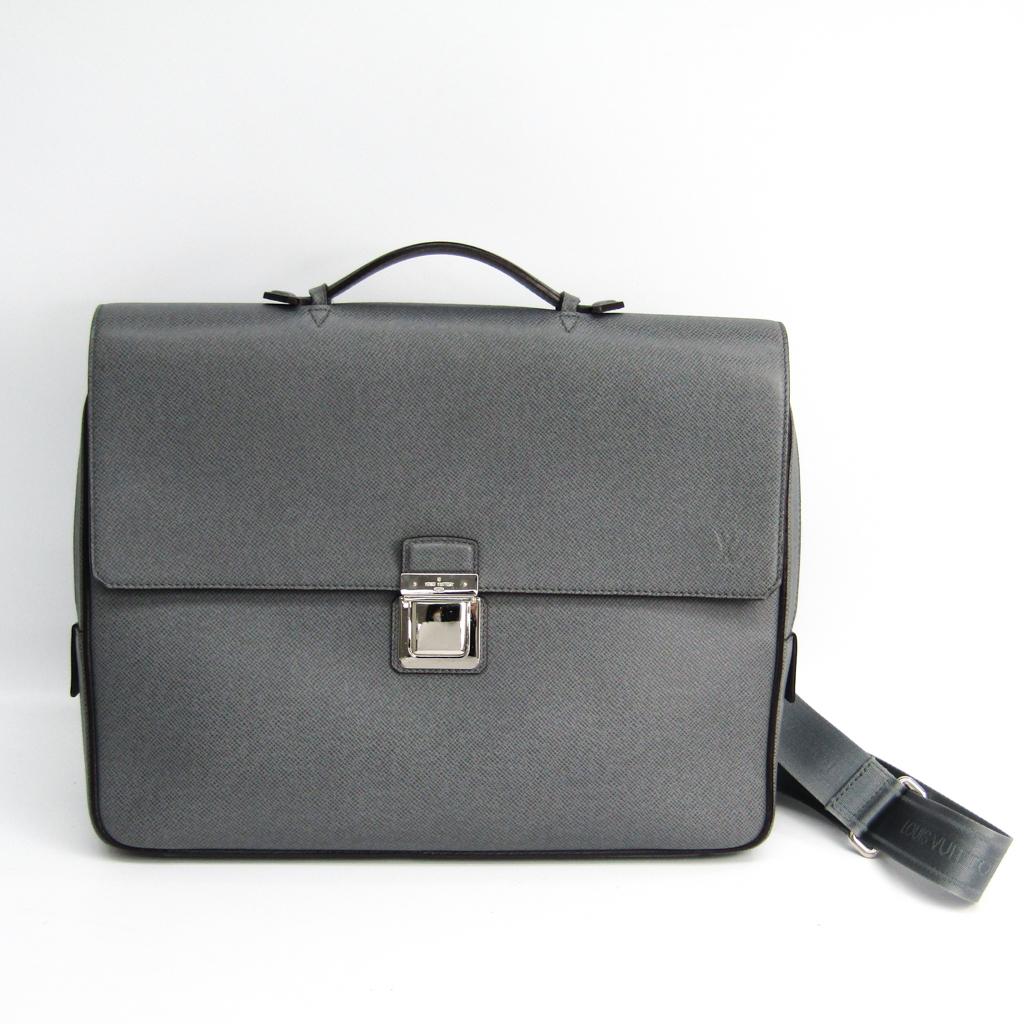 ルイ・ヴィトン(Louis Vuitton) タイガ ヴァシリPM M32641 メンズ ブリーフケース グラシエ 【中古】