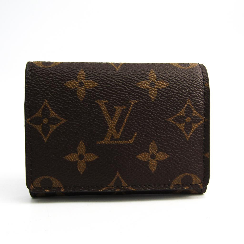 ルイ・ヴィトン(Louis Vuitton) モノグラム アンヴェロップ・カルト ドゥ ヴィジット M63801 モノグラム 名刺入れ モノグラム 【中古】