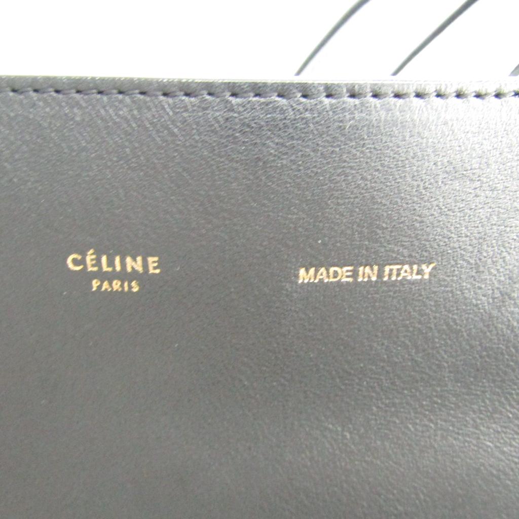 f6ca2493c6 Celine (Celine) hippopotamus hippopotamus phantom large Lady s leather tote  bag black