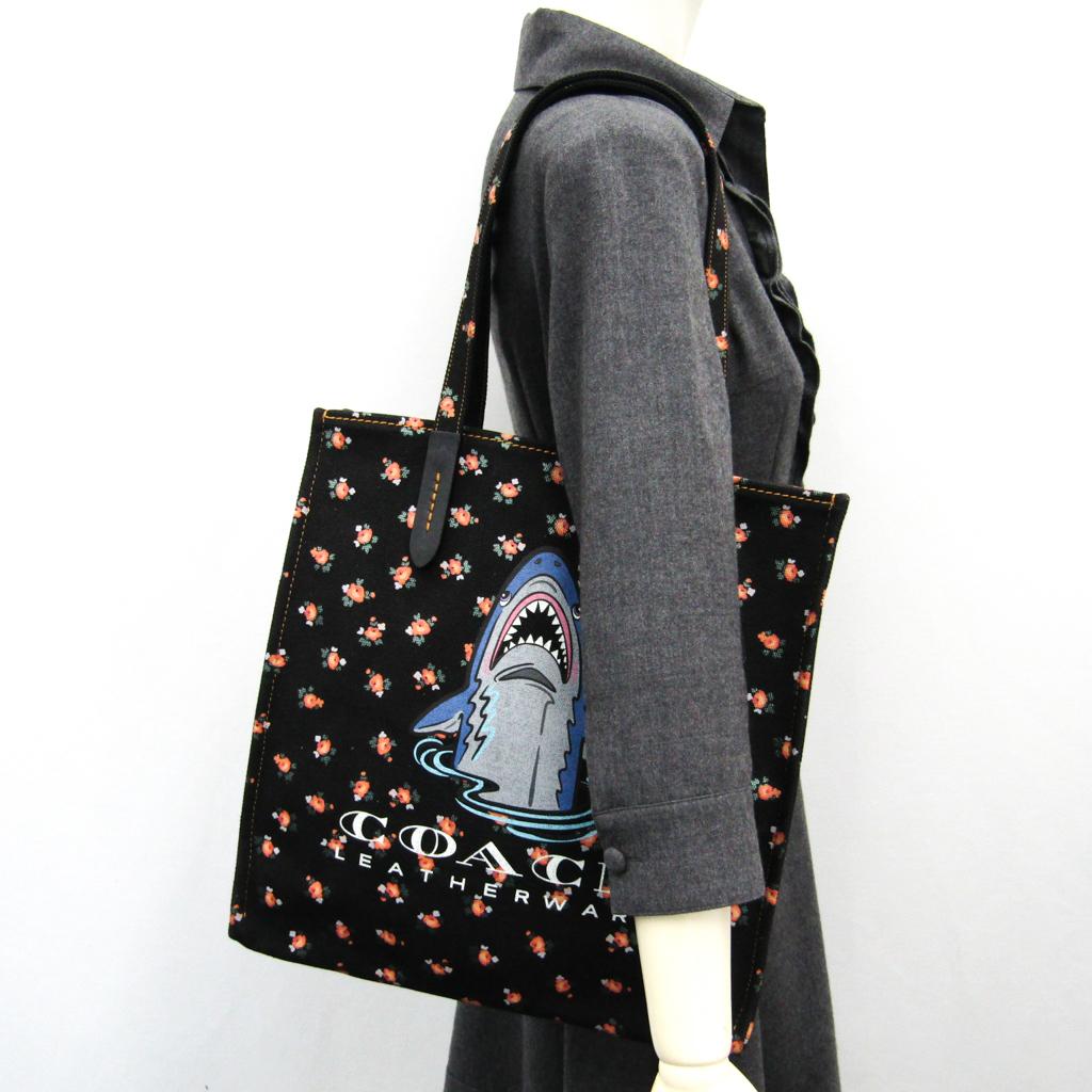 d4c2b4579b4b eLADY  Coach (Coach) Sharkey Thoth 25113 Lady s canvas tote bag ...
