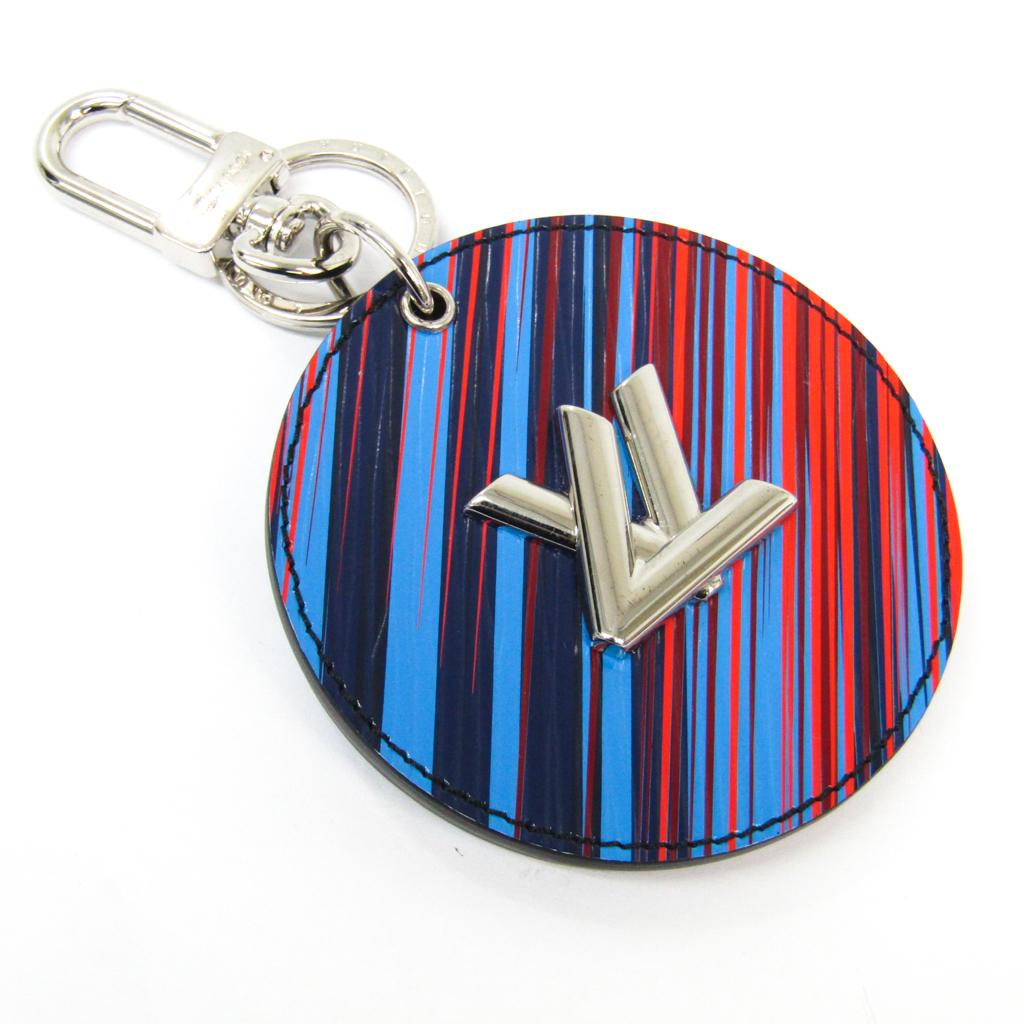 ルイ・ヴィトン(Louis Vuitton) エピ バッグ チャーム・LV ミラー MP2024 キーホルダー (ブルー,ネイビー,レッド) 【中古】