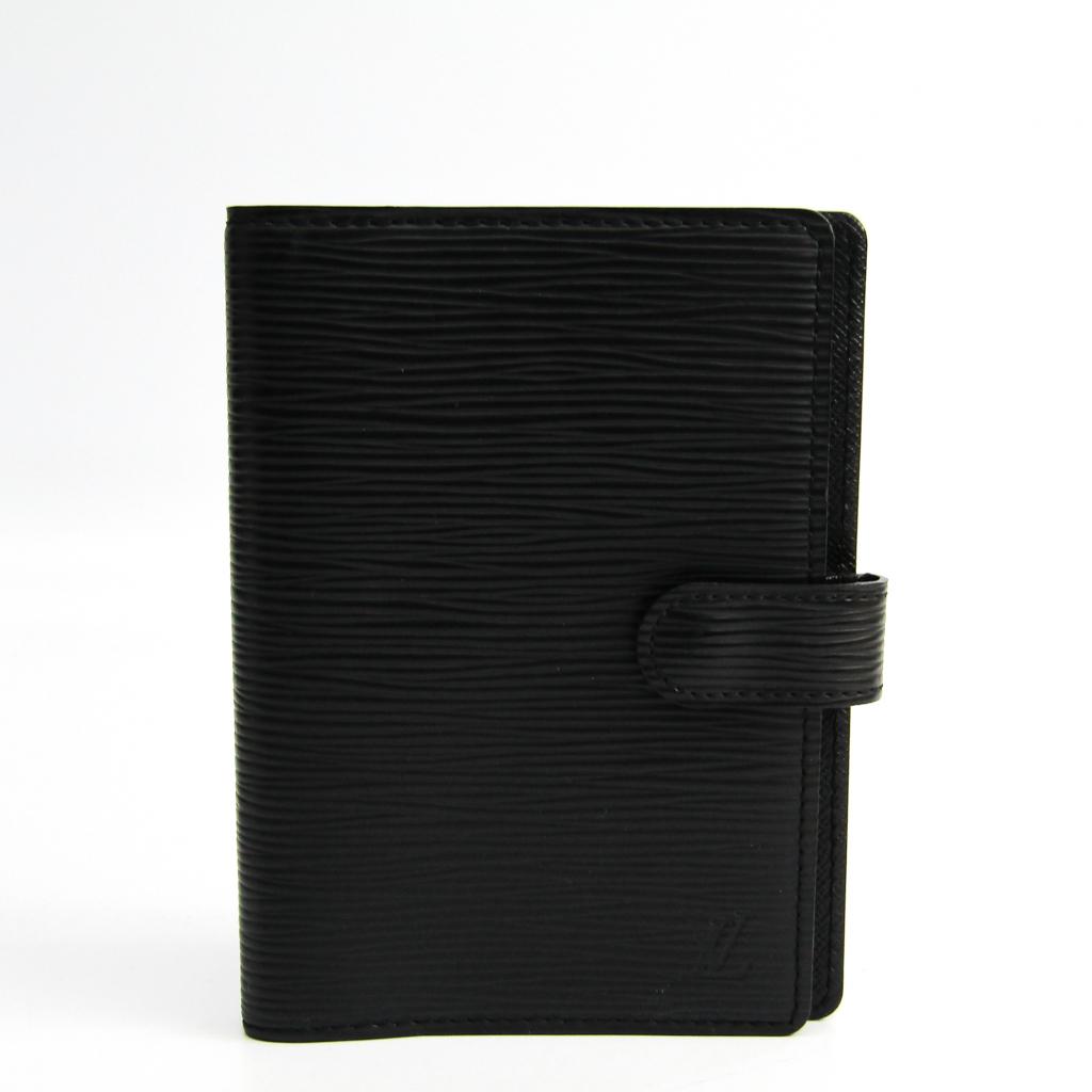 ルイ・ヴィトン(Louis Vuitton) エピ 手帳 ノワール R20052 アジェンダPM 【中古】