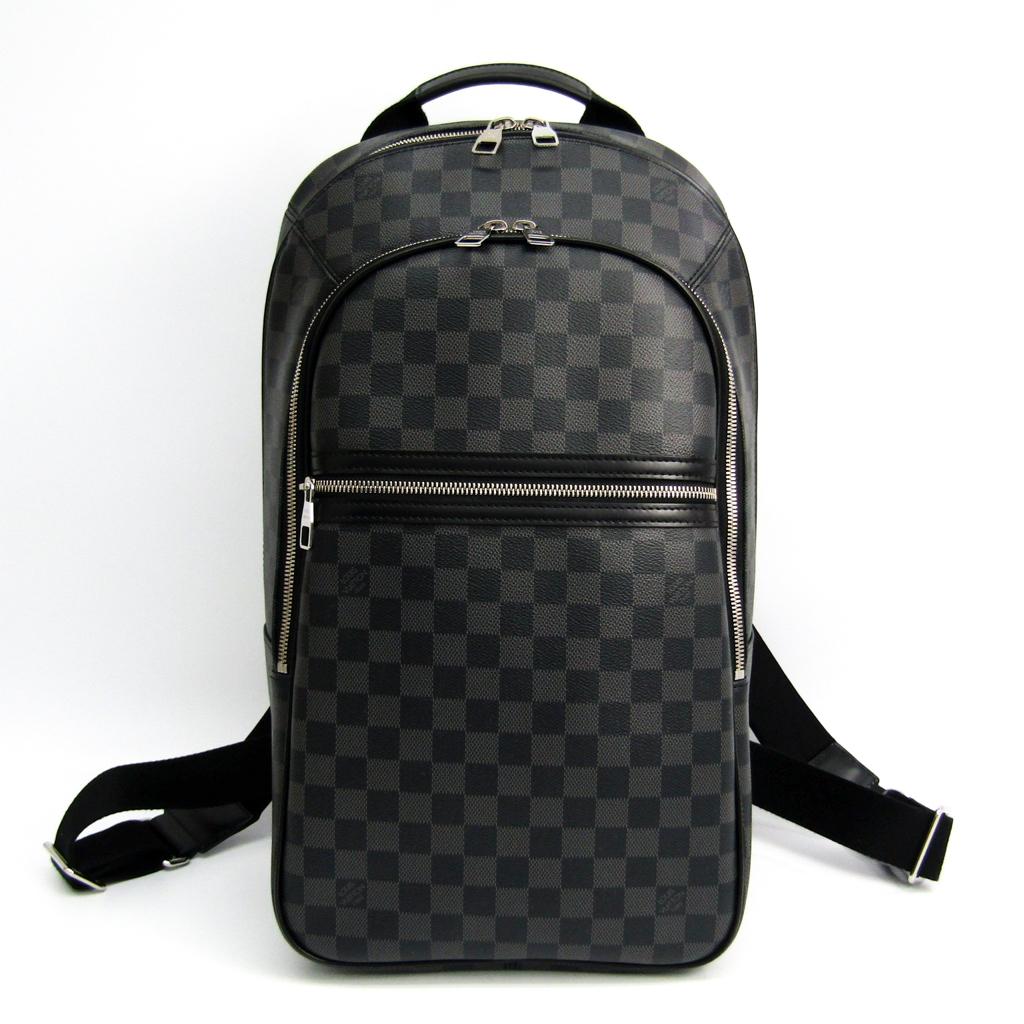 d6088c0a860a ルイ・ヴィトン(Louis Vuitton) ダミエ・グラフィット ミカエル N58024 メンズ リュックサック