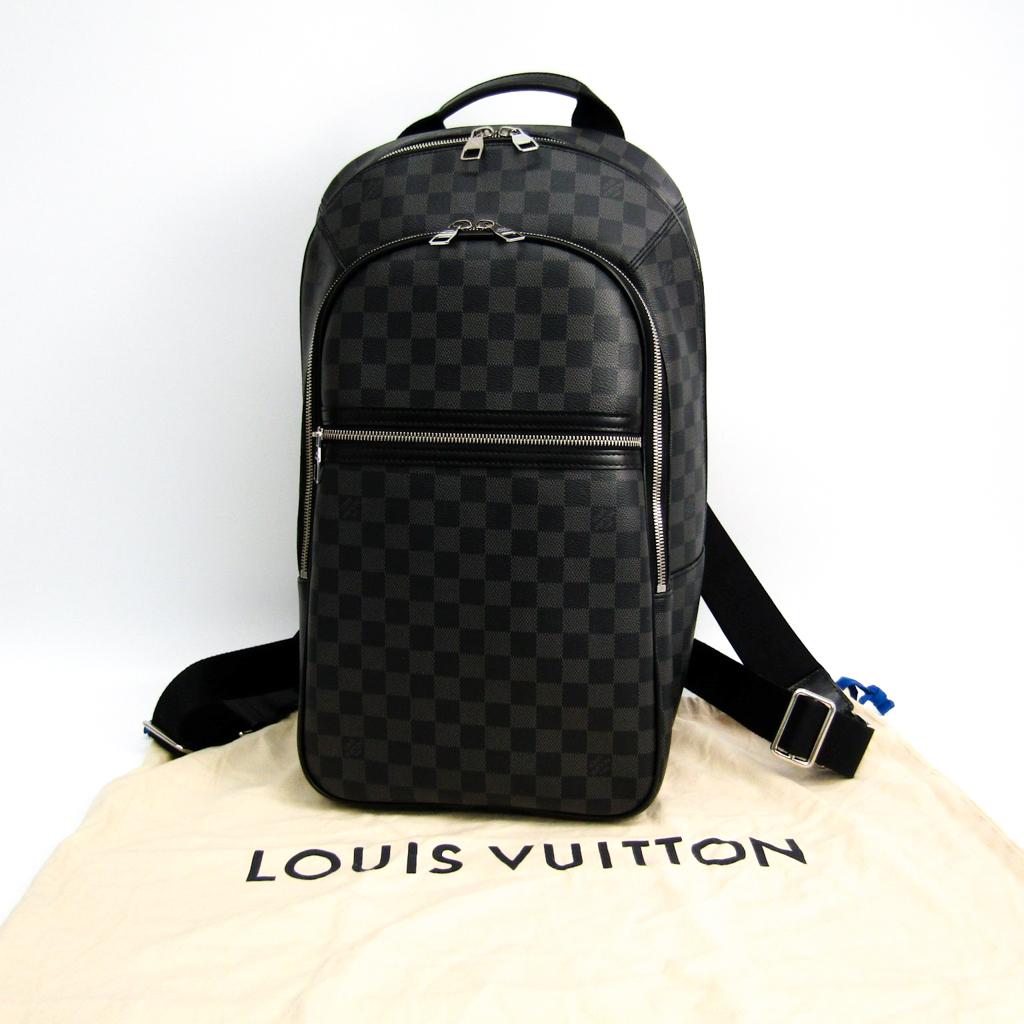 c34448a0742c ルイ・ヴィトン(Louis Vuitton) ダミエ・グラフィット ミカエル N58024 メンズ リュックサック ダミエ・グラフィット 【中古】