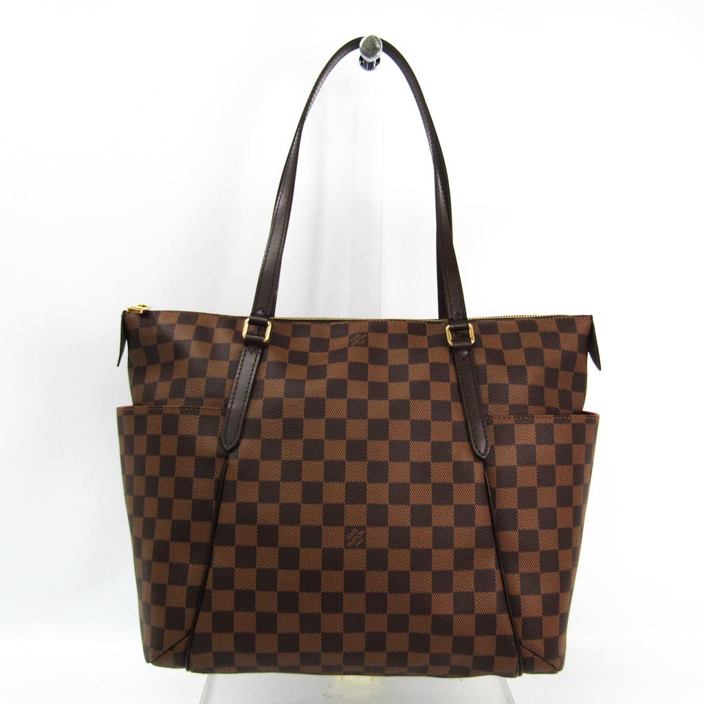 ルイ・ヴィトン(Louis Vuitton) ダミエ トータリーMM N41281 トートバッグ エベヌ 【中古】