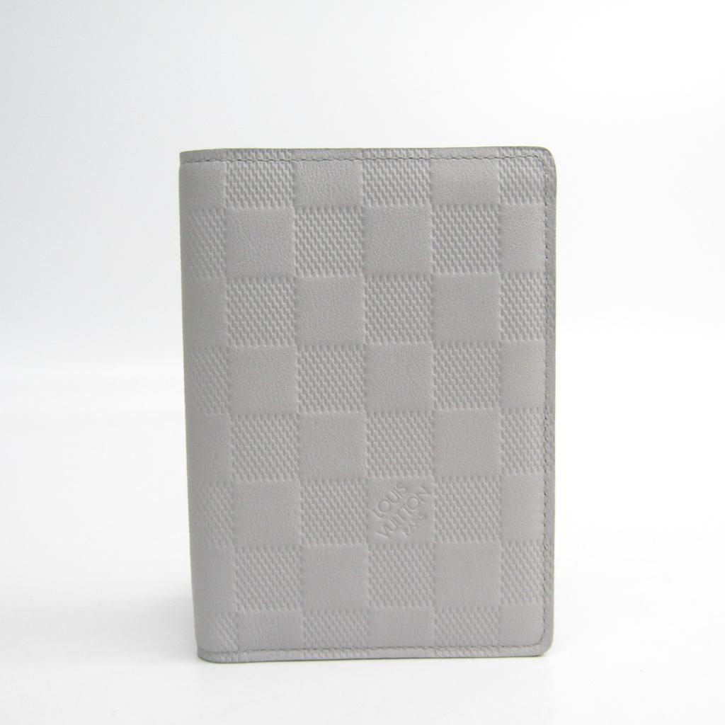 ルイ・ヴィトン(Louis Vuitton) ダミエアンフィニ ポルトフォイユ・ジェイムス N63009 ダミエアンフィニ 財布(二つ折り) アークティック 【中古】