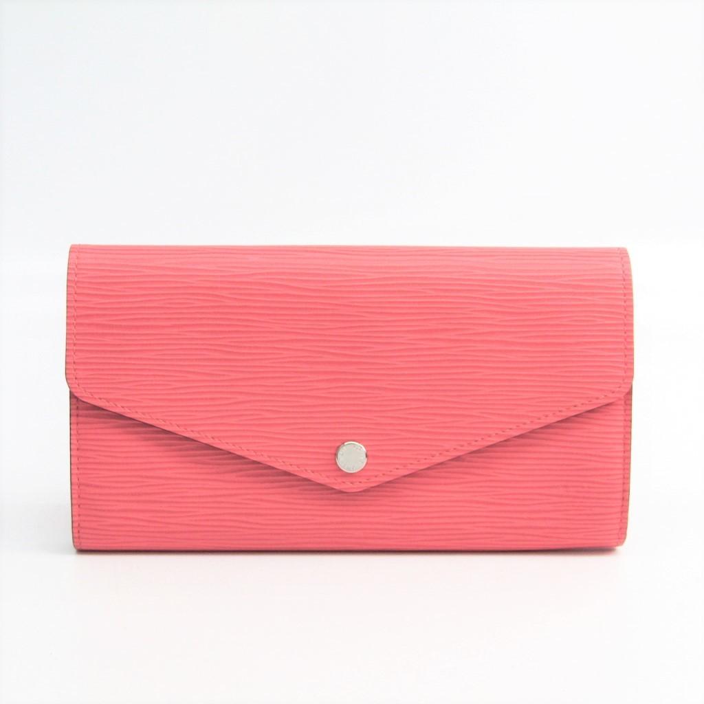 ルイ・ヴィトン(Louis Vuitton) モノグラム ポルトフォイユ・サラ M60604 レディース エピレザー 長財布(二つ折り) ピンク 【中古】
