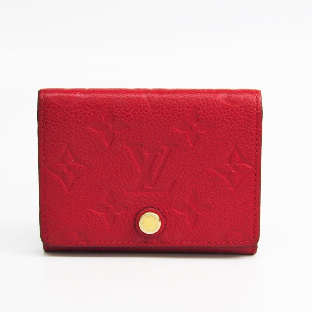 ルイ・ヴィトン(Louis Vuitton) モノグラムアンプラント アンヴェロップ・カルト ドゥ ヴィジット M58457 モノグラムアンプラント カードケース スリーズ 【中古】