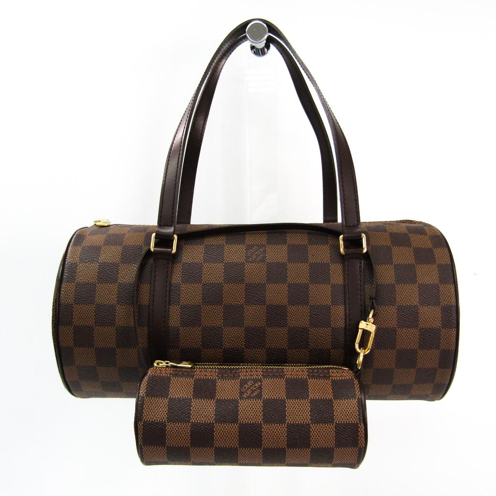 ルイ・ヴィトン(Louis Vuitton) ダミエ パピヨン30 N51303 レディース ハンドバッグ エベヌ 【中古】