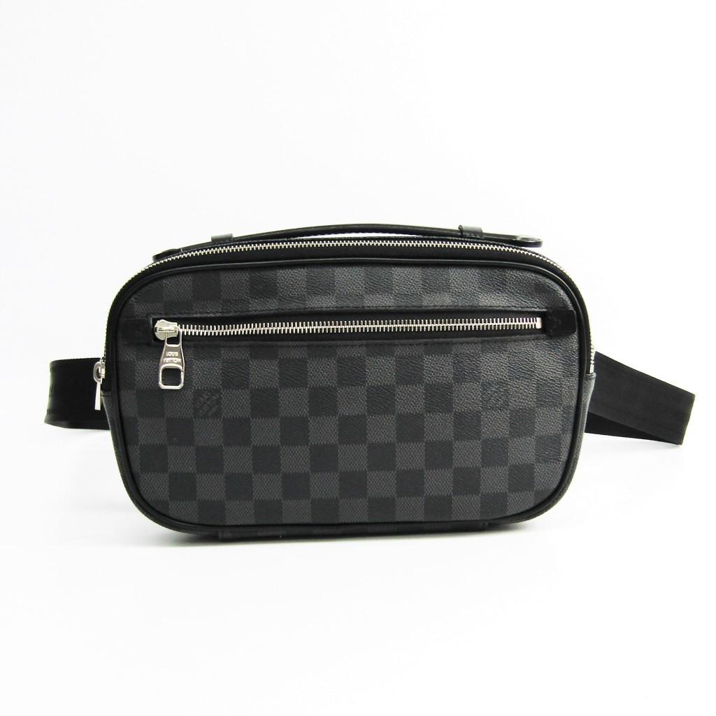 ルイ・ヴィトン(Louis Vuitton) ダミエ・グラフィット アンブレール N41289 メンズ ウエストバッグ 【中古】