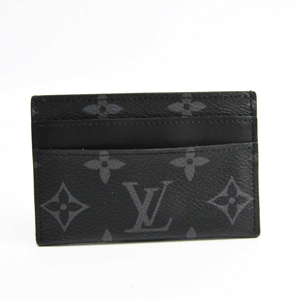 ルイ・ヴィトン(Louis Vuitton) モノグラム・エクリプス ポルト・カルト・ダブル M62170 モノグラムエクリプス カードケース 【中古】