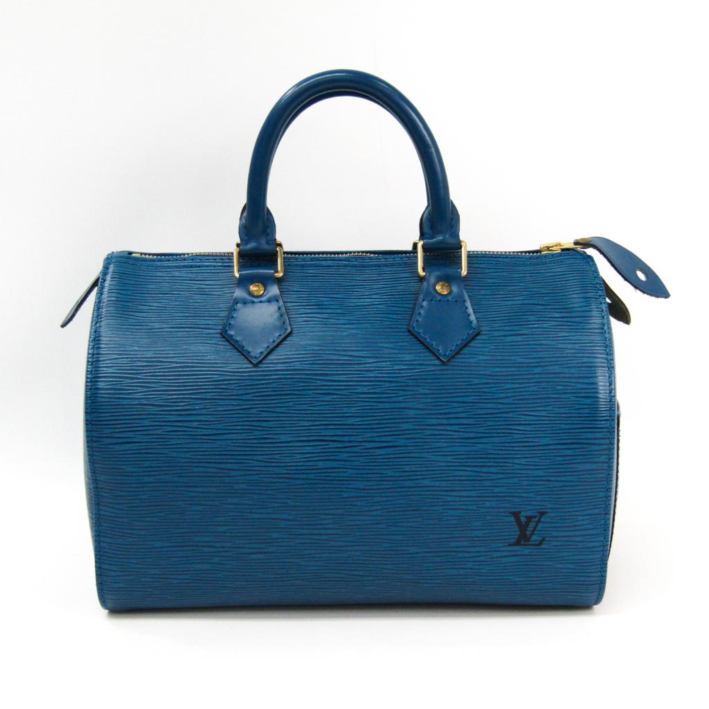 ルイ・ヴィトン(Louis Vuitton) エピ スピーディ25 M43015 レディース ハンドバッグ トレドブルー 【中古】