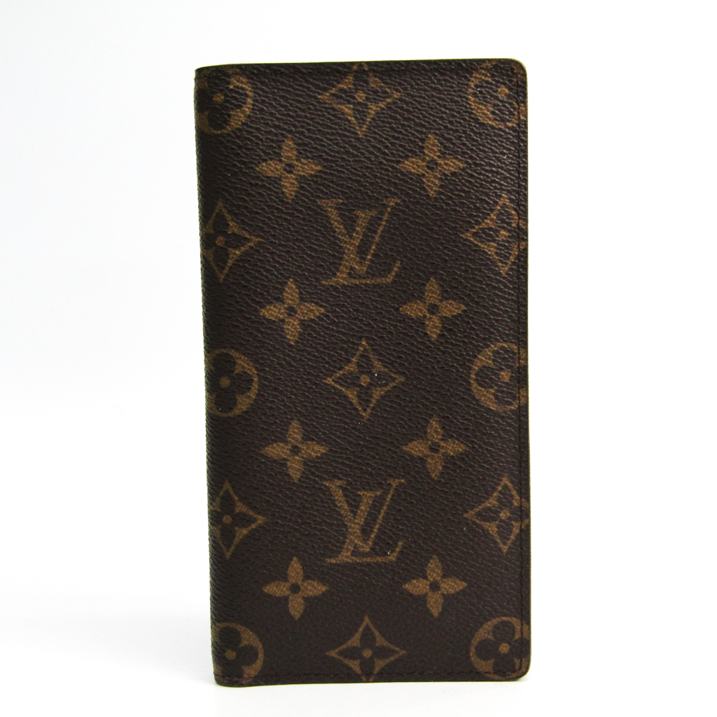 ルイ・ヴィトン(Louis Vuitton) モノグラム ポルトバルールカルトクレディ M61823 ユニセックス モノグラム 長札入れ(二つ折り) モノグラム 【中古】
