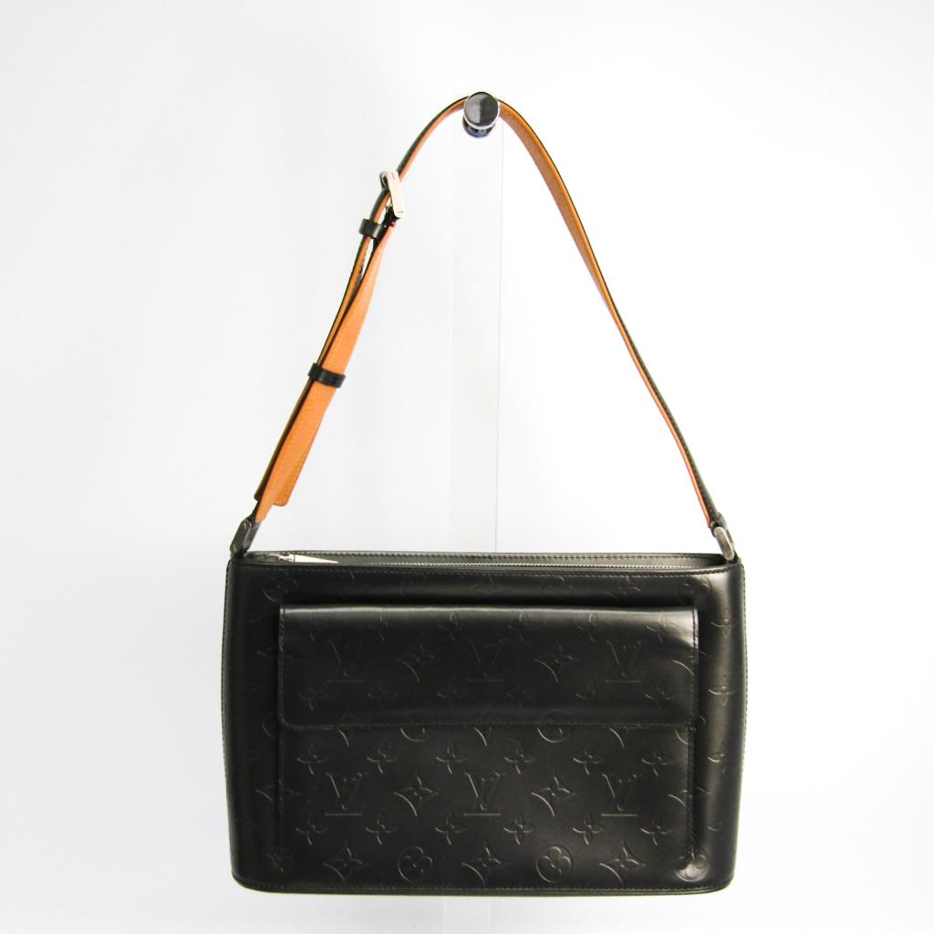 ルイ・ヴィトン(Louis Vuitton) モノグラムマット アルストン M55122 レディース ハンドバッグ ノワール 【中古】