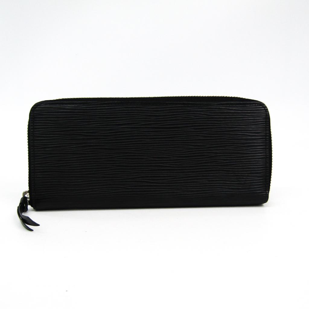 ルイ・ヴィトン(Louis Vuitton) エピ ポルトフォイユ・クレマンス M60915 レディース エピレザー 長財布(二つ折り) ノワール 【中古】