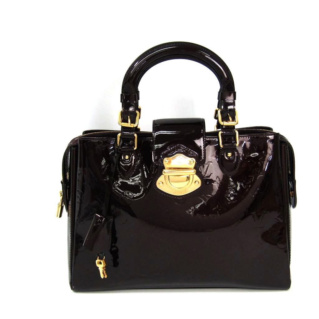 ルイ・ヴィトン(Louis Vuitton) モノグラムヴェルニ メルローズ・アヴェニュー M93757 ハンドバッグ アマラント 【中古】