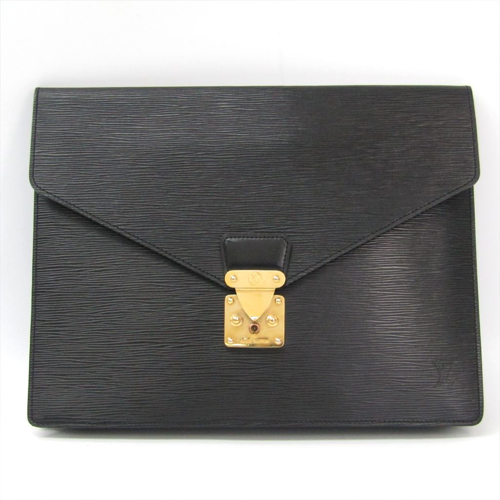 ルイ・ヴィトン(Louis Vuitton) エピ ポルト・ドキュマン・セナトゥール M54452 ブリーフケース ノワール 【中古】