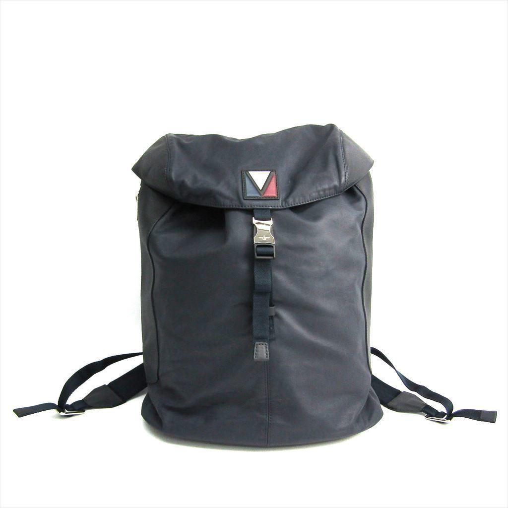 ルイ・ヴィトン(Louis Vuitton) パルス M51106 メンズ リュックサック ネイビー 【中古】