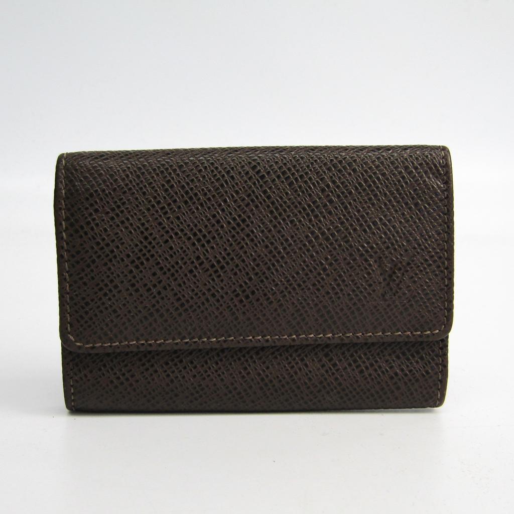 ルイ・ヴィトン(Louis Vuitton) タイガ ミュルティクレ6 M30538 メンズ タイガ キーケース グリズリ 【中古】