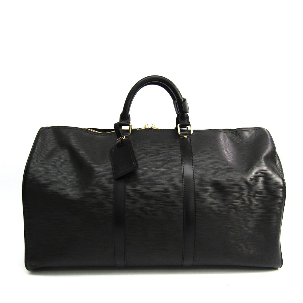 ルイ・ヴィトン(Louis Vuitton) エピ キーポル50 M42962 レディース ボストンバッグ ノワール 【中古】