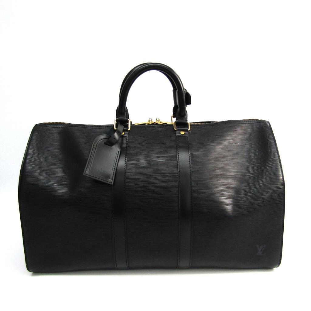 ルイ・ヴィトン(Louis Vuitton) エピ キーポル45 M42972 レディース ボストンバッグ ブラック 【中古】