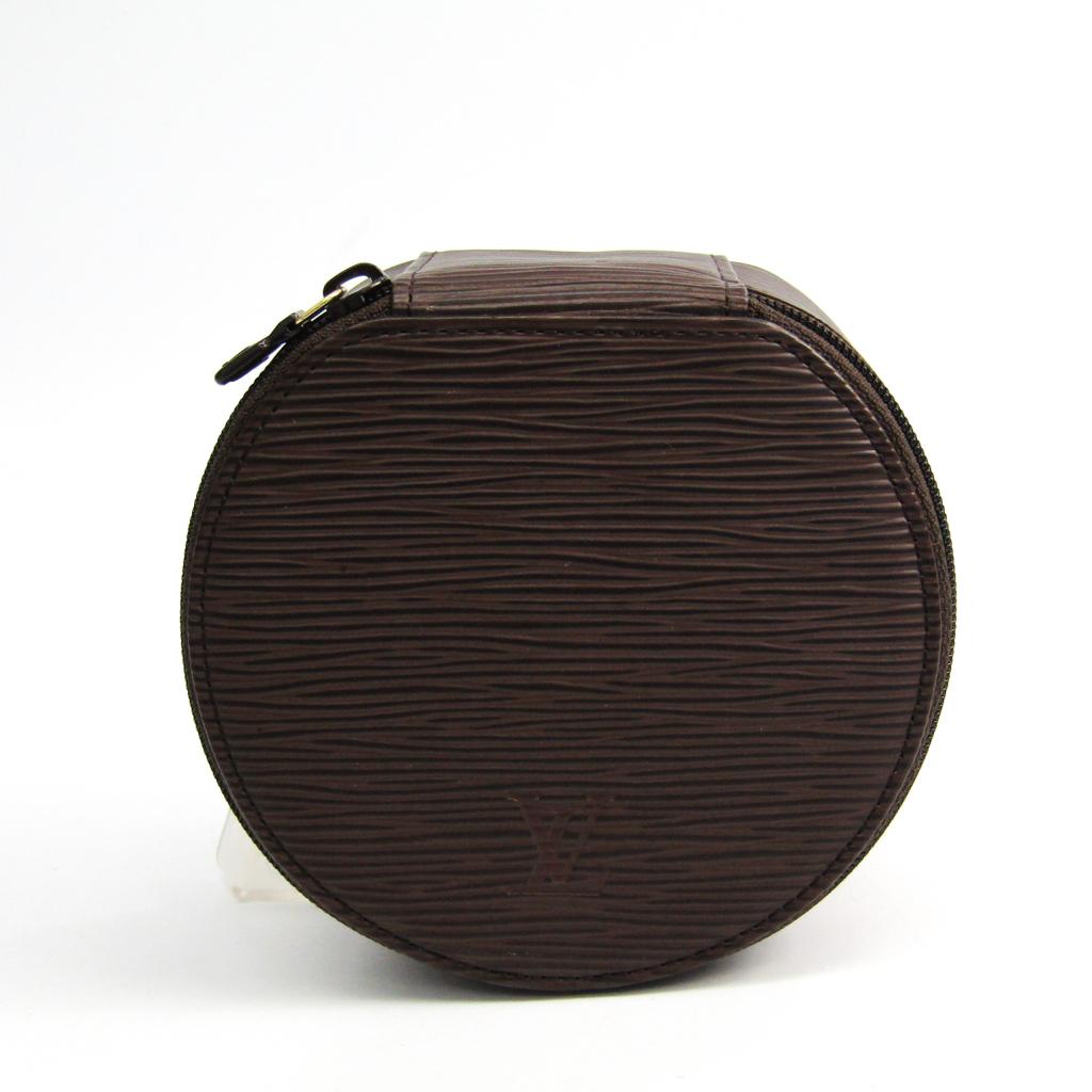 ルイ・ヴィトン(Louis Vuitton) エピ エクランビジュー12 M4820D ジュエリーケース モカ エピレザー 【中古】