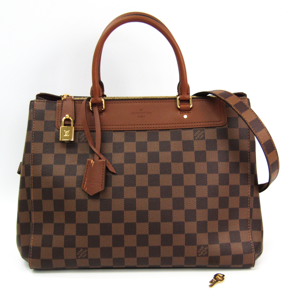 ルイ・ヴィトン(Louis Vuitton) ダミエ ダミエ・グリニッジ N41337 ハンドバッグ エベヌ 【中古】