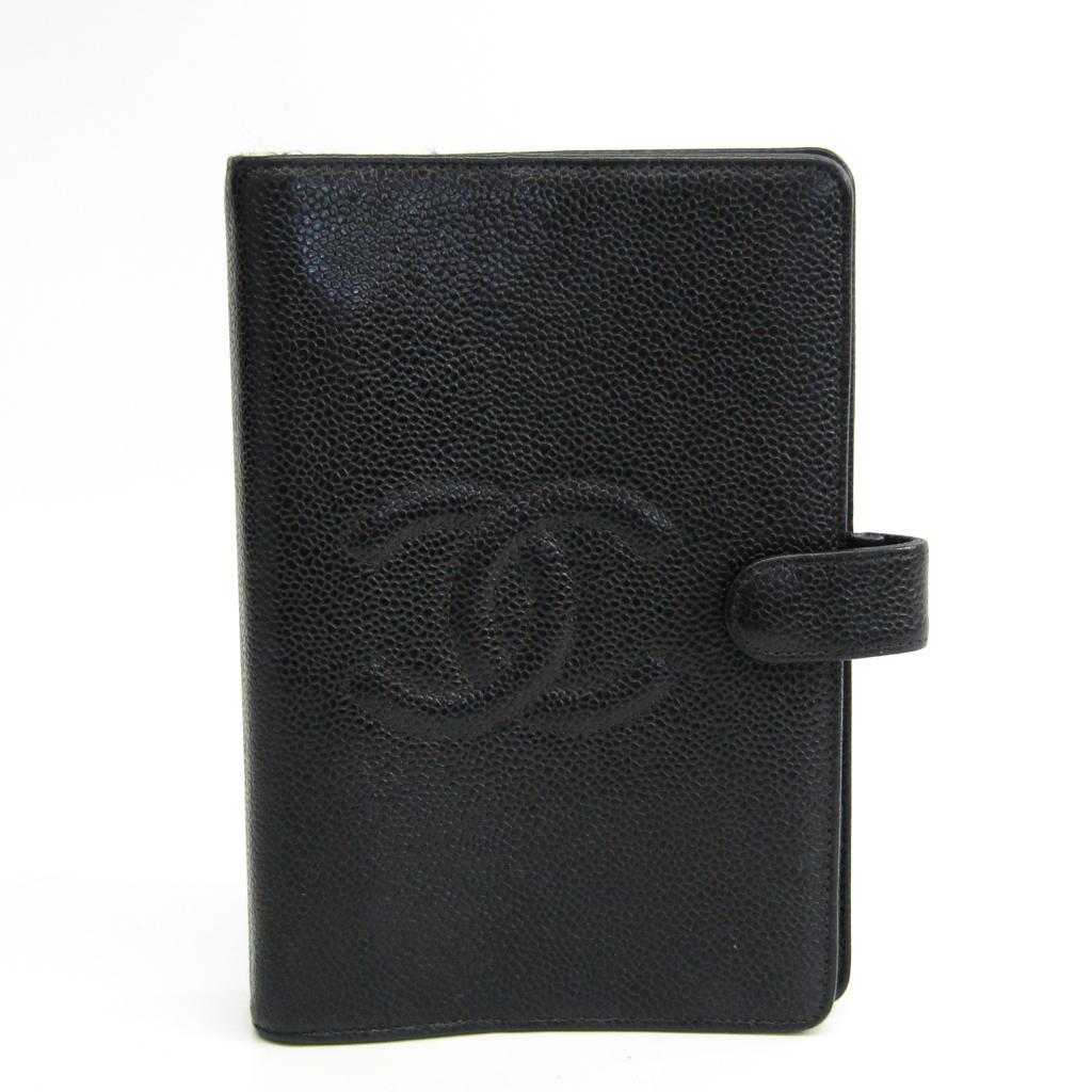 シャネル(Chanel) ココ 手帳 ブラック 【中古】