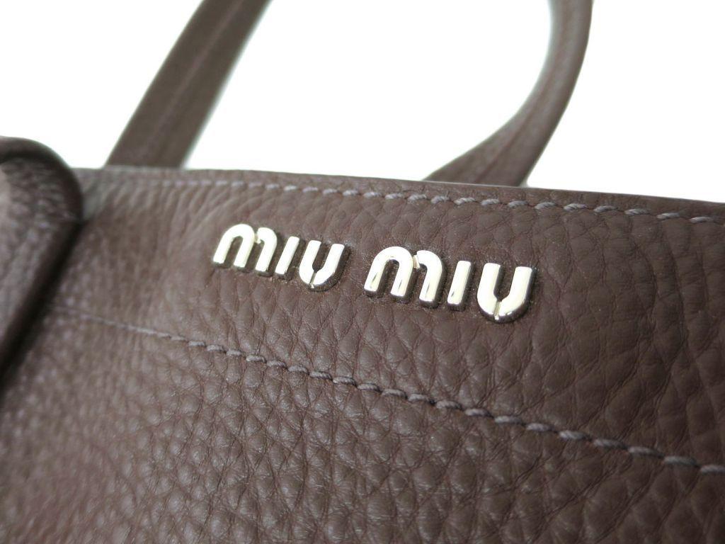 ミュウ・ミュウ Miu Miuレディース トートバッグ ブラウンAj54RL