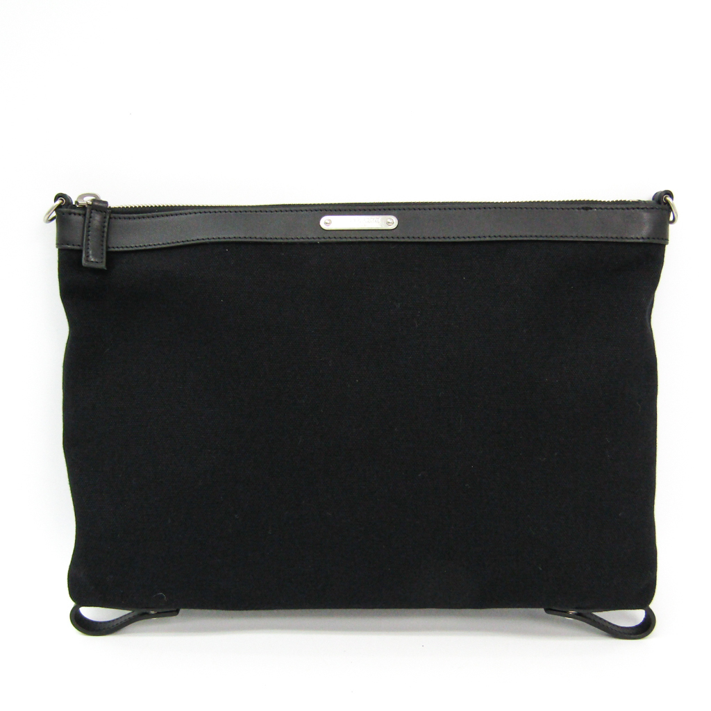 d97b7f5df1 Saint-Lo orchid (Saint Laurent) ID convertible toiletry bag 485374 men's  canvas, leather clutch bag black