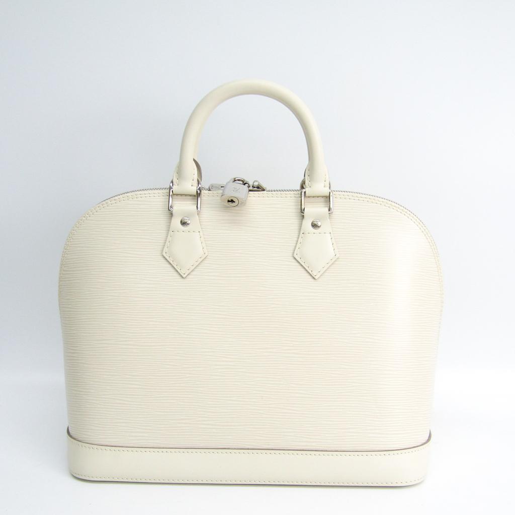 ルイ・ヴィトン(Louis Vuitton) エピ アルマ M5280J ハンドバッグ アイボリー 【中古】