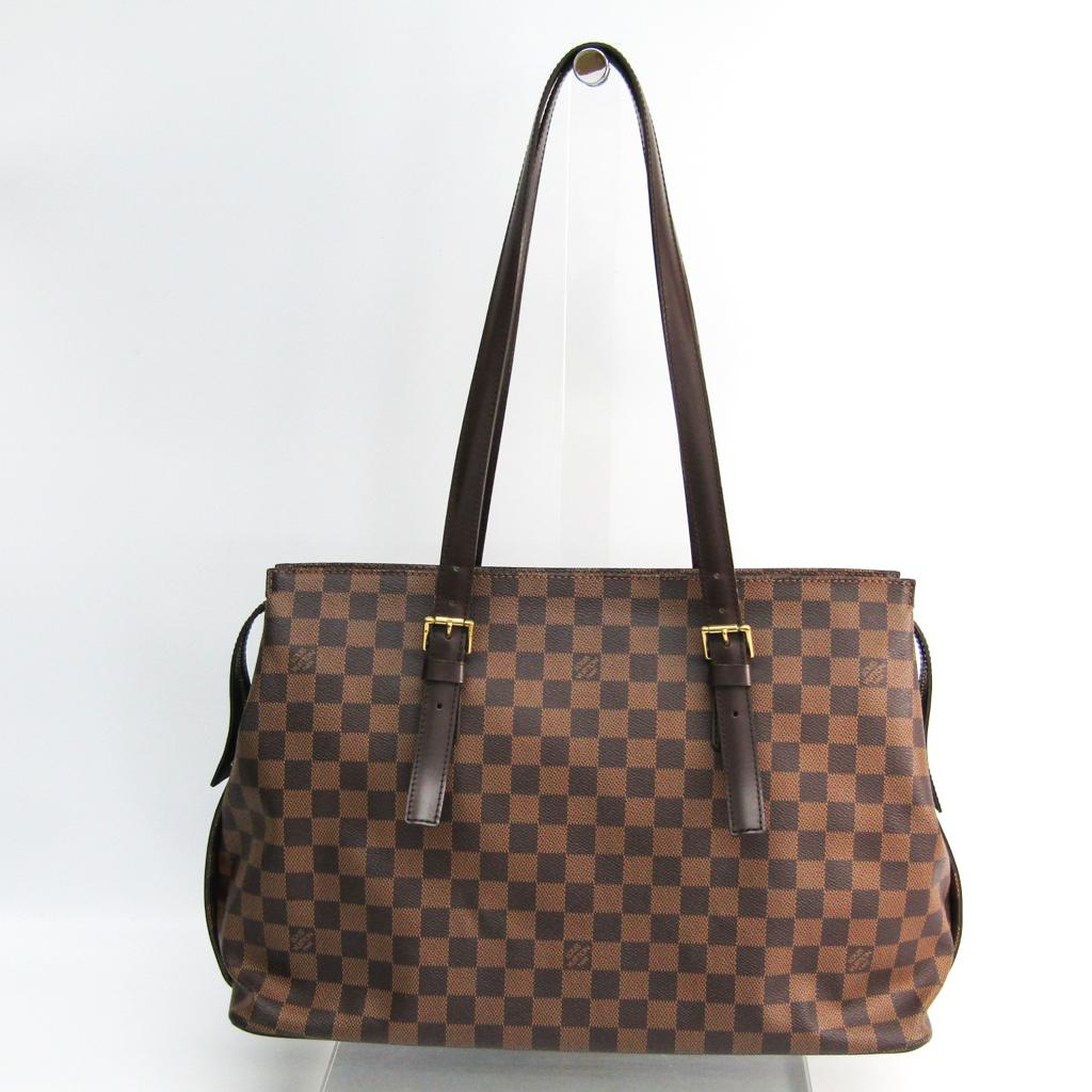 ルイ・ヴィトン(Louis Vuitton) ダミエ チェルシー N51119 レディース ショルダーバッグ エベヌ 【中古】