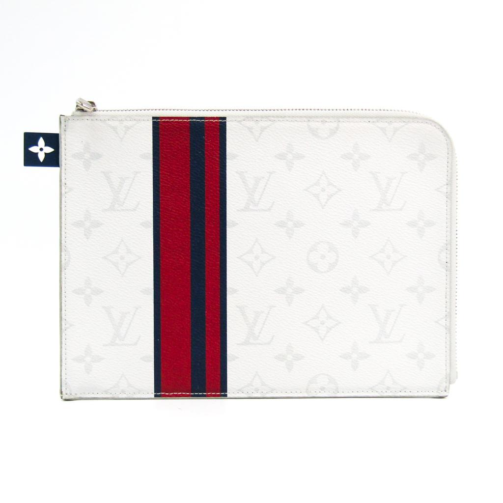 ルイ・ヴィトン(Louis Vuitton) ポシェット・ジュールPM M61745 ユニセックス クラッチバッグ ホワイト 【中古】