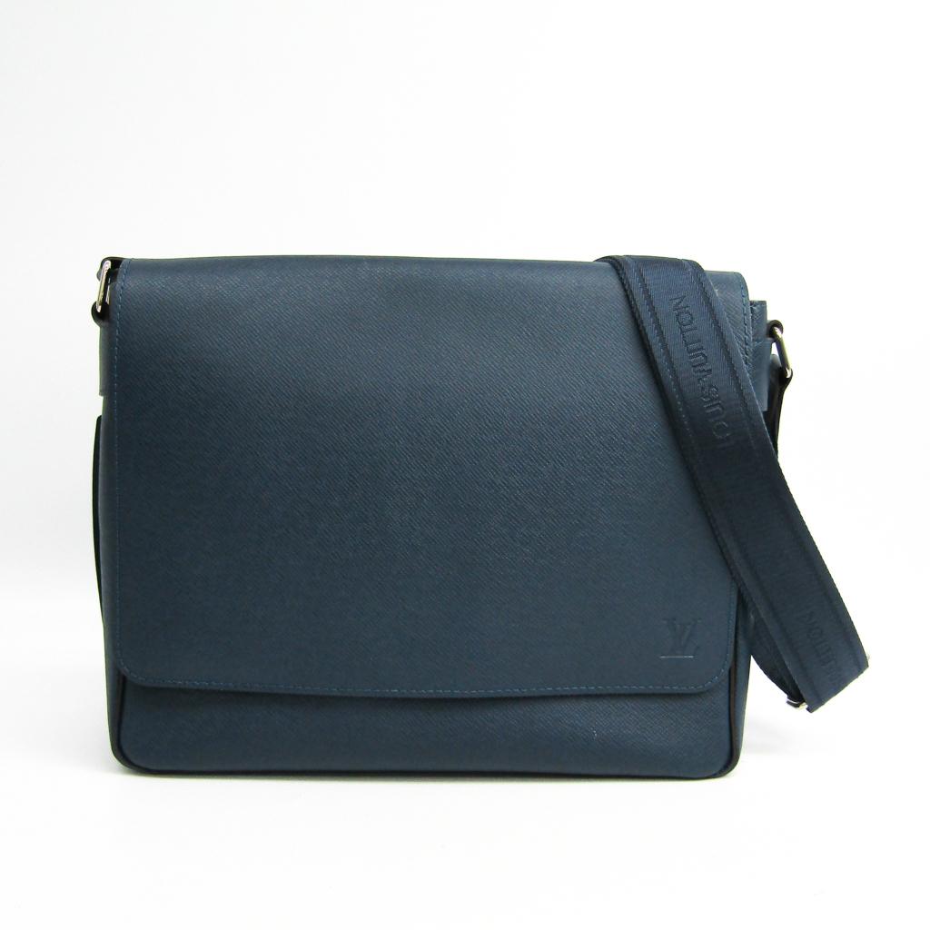 ルイ・ヴィトン(Louis Vuitton) タイガ ロマンPM M32824 メンズ ショルダーバッグ オセアン 【中古】