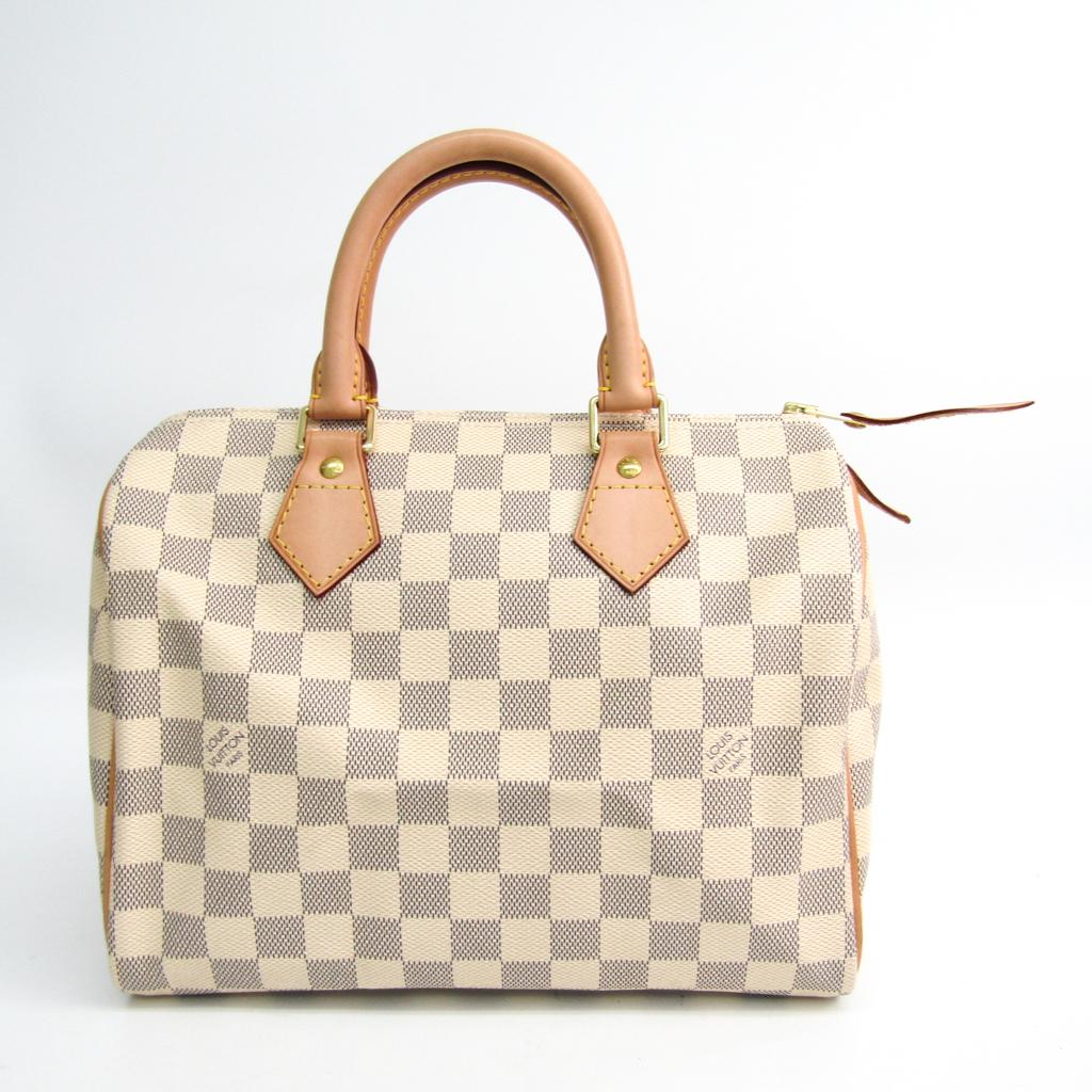 ルイ・ヴィトン(Louis Vuitton) ダミエ スピーディ25 N41371 レディース ハンドバッグ アズール 【中古】