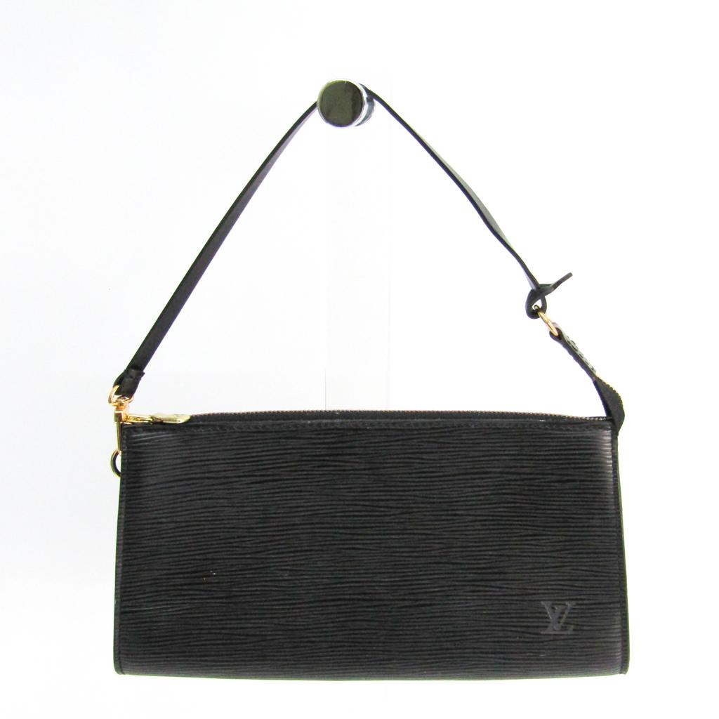 ルイ・ヴィトン(Louis Vuitton) エピ ポシェット・アクセソワール24 M52942 ハンドバッグ ノワール 【中古】