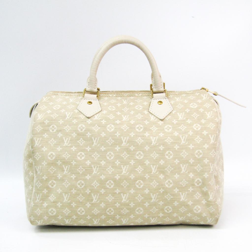 ルイ・ヴィトン(Louis Vuitton) モノグラムミニリン スピーディ30 M95319 ハンドバッグ デュンヌ 【中古】