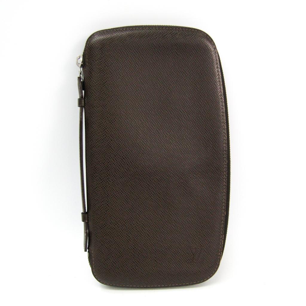 ルイ・ヴィトン(Louis Vuitton) タイガ トラベルケース オーガナイザー・アトール M30651 メンズ タイガ 長財布(二つ折り) グリズリ 【中古】