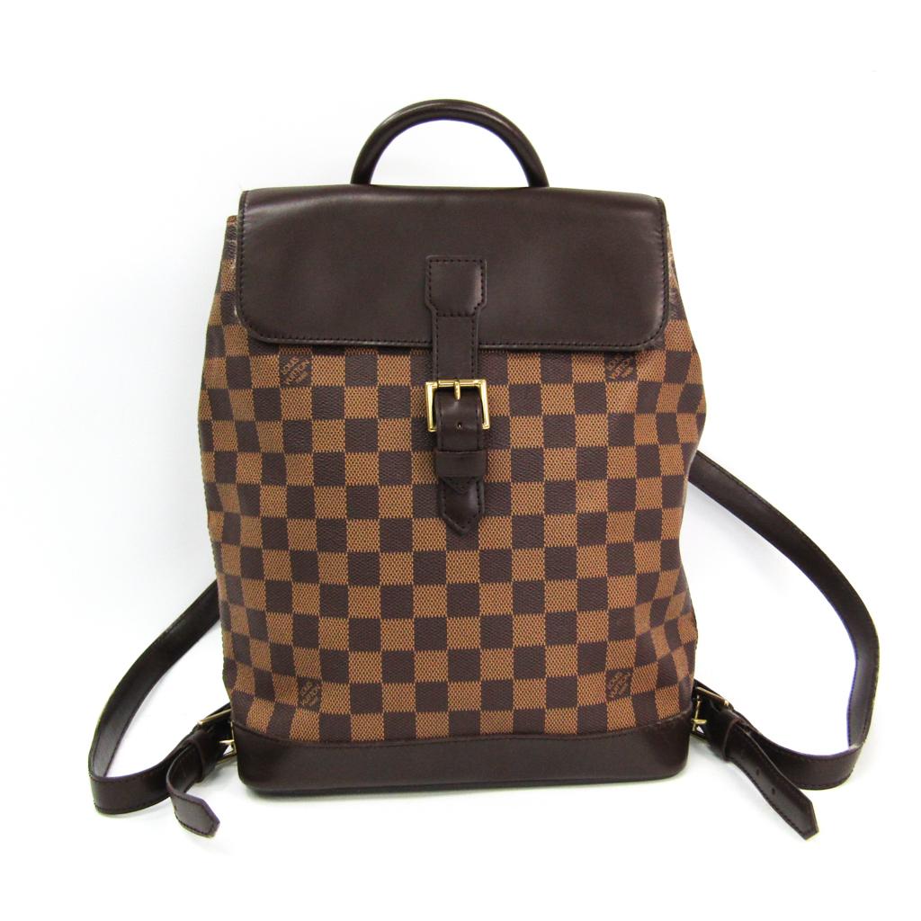 ルイ・ヴィトン(Louis Vuitton) ダミエ ソーホー N51132 リュックサック エベヌ 【中古】