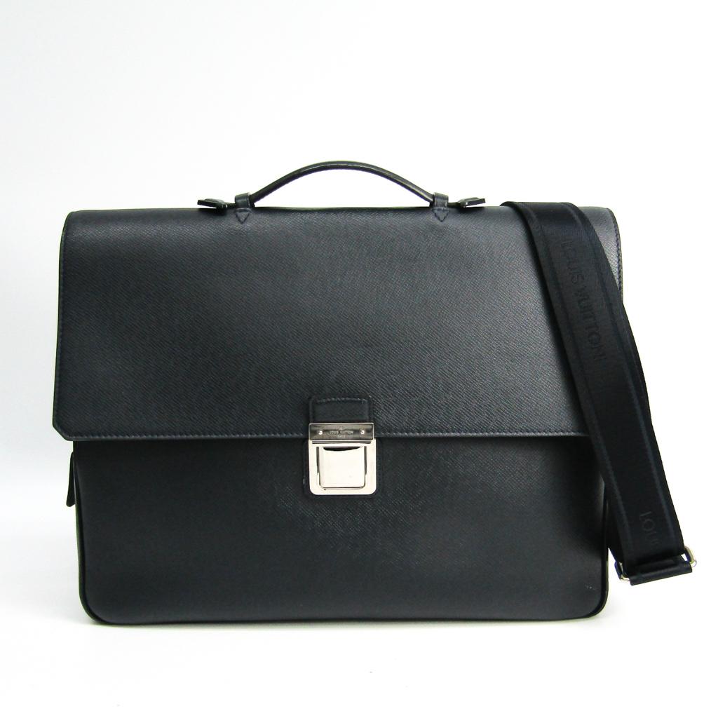 ルイ・ヴィトン(Louis Vuitton) タイガ ヴァシリPM M32640 メンズ ブリーフケース ボレアル 【中古】