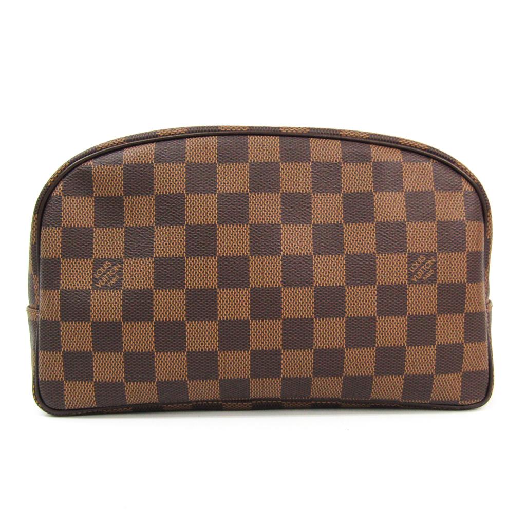 ルイ・ヴィトン(Louis Vuitton) ダミエ トゥルース・トワレット25 N47624 レディース ポーチ エベヌ 【中古】