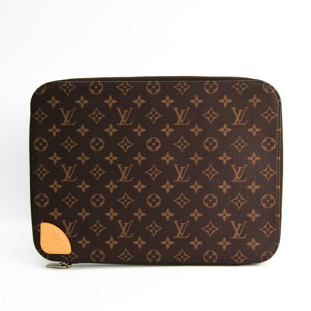 ルイ・ヴィトン(Louis Vuitton) モノグラム ホライゾン・ラップトップスリーブ M42666 ユニセックス ポーチ モノグラム 【中古】