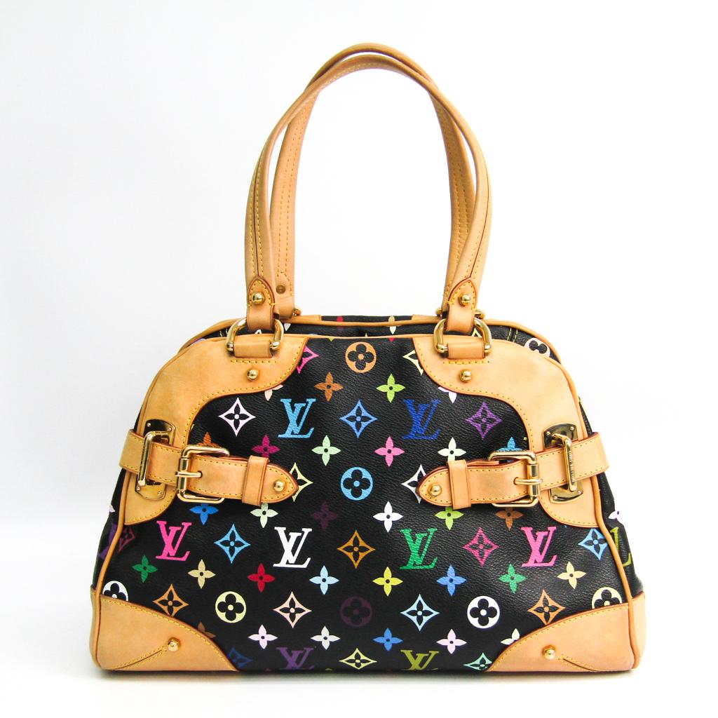 ルイ・ヴィトン(Louis Vuitton) モノグラムマルチカラー クラウディア M40194 ハンドバッグ ノワール 【中古】