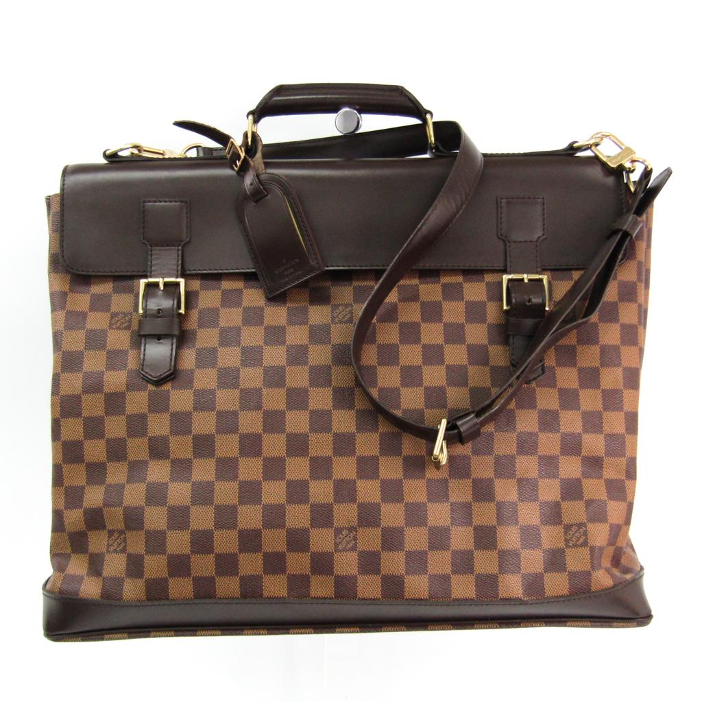 ルイ・ヴィトン(Louis Vuitton) ダミエ ウエストエンドPM N41130 ショルダーバッグ エベヌ 【中古】