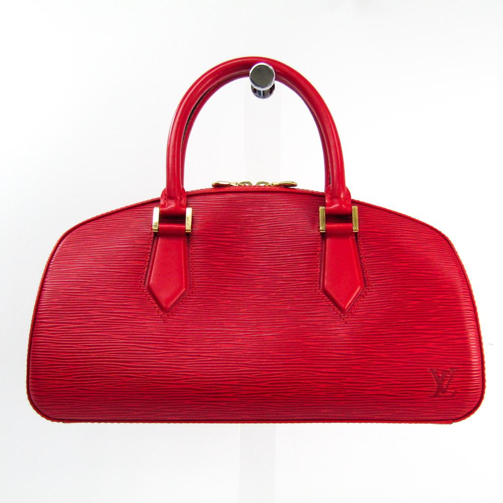 ルイ・ヴィトン(Louis Vuitton) エピ ジャスミン M52087 ハンドバッグ カスティリアンレッド 【中古】