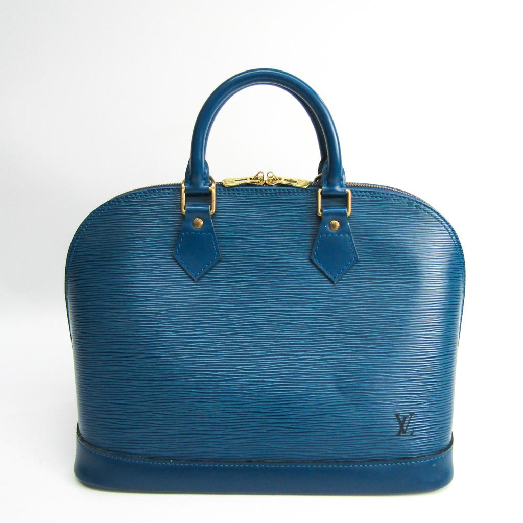 ルイ ヴィトン 特別セール品 Louis Vuitton エピ ハンドバッグ M52145 アルマ トレドブルー 中古 4年保証
