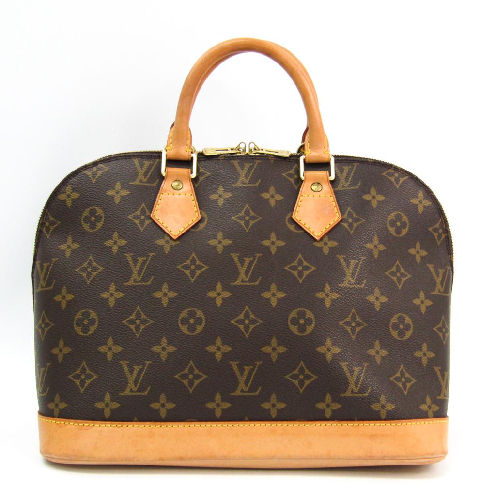 ルイ ヴィトン Louis 早割クーポン Vuitton モノグラム ハンドバッグ レディース アルマ 在庫あり M51130 中古